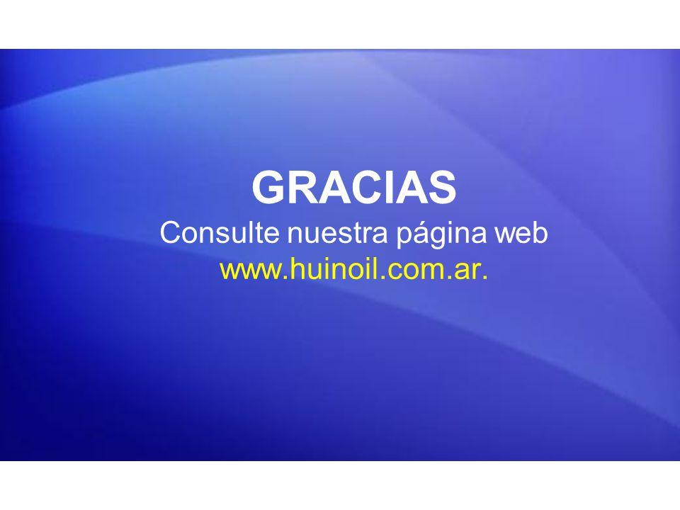 GRACIAS Consulte nuestra página web