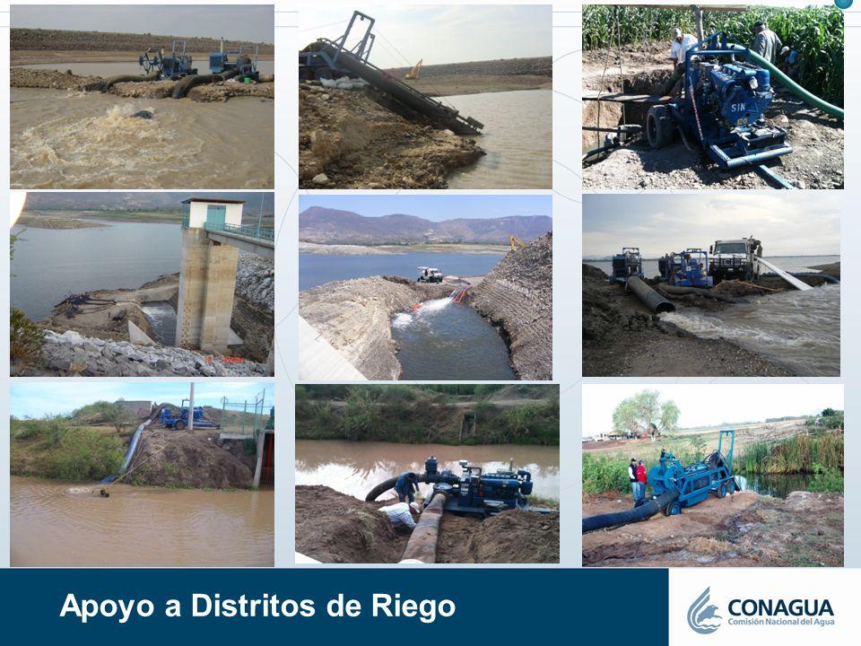 Apoyo a Distritos de Riego