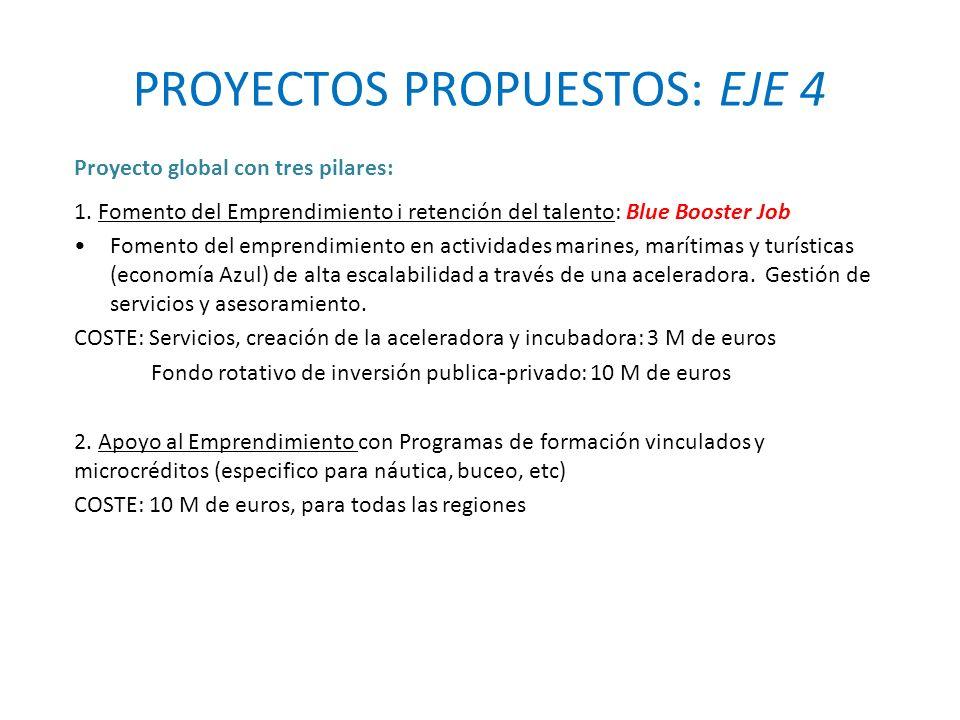 PROYECTOS PROPUESTOS: EJE 4