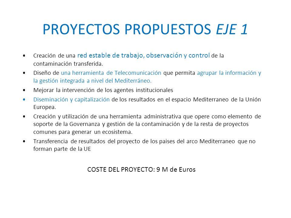 PROYECTOS PROPUESTOS EJE 1