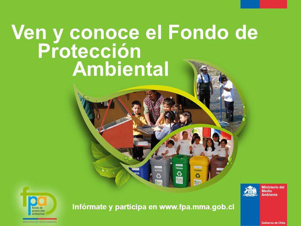 Ven y conoce el Fondo de Protección Ambiental