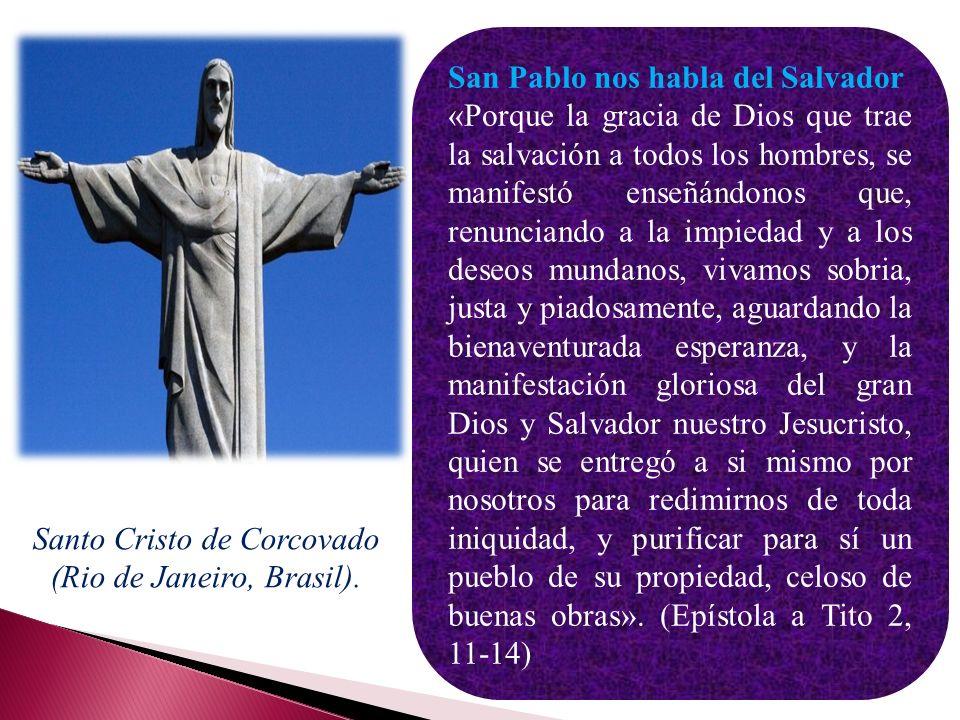 Santo Cristo de Corcovado (Rio de Janeiro, Brasil).