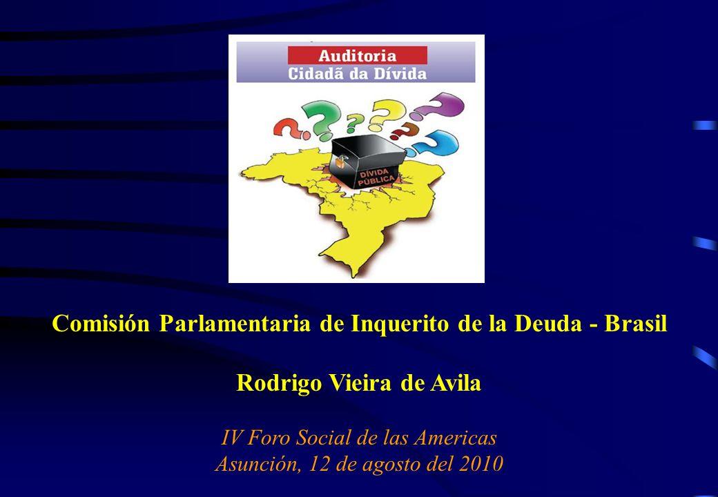 Comisión Parlamentaria de Inquerito de la Deuda - Brasil