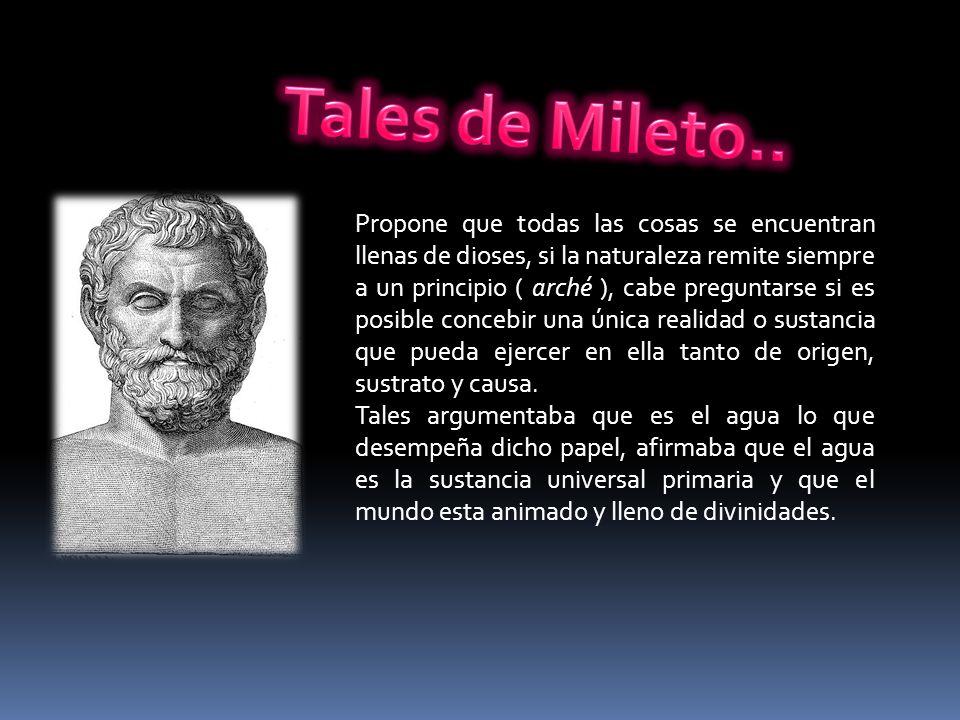 Tales de Mileto..