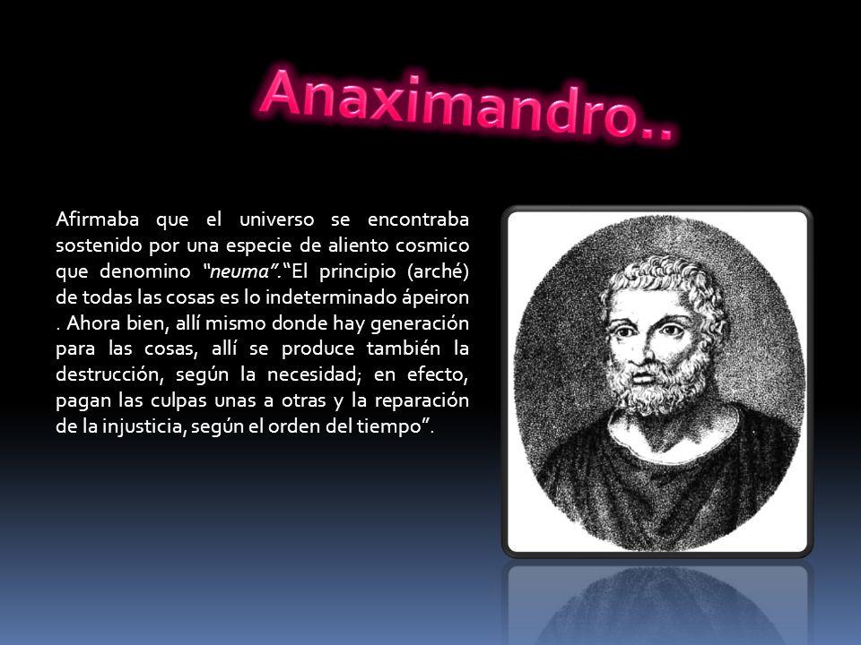 Anaximandro..