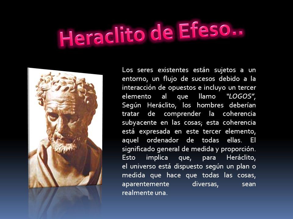 Heraclito de Efeso..