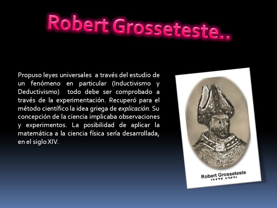 Robert Grosseteste..