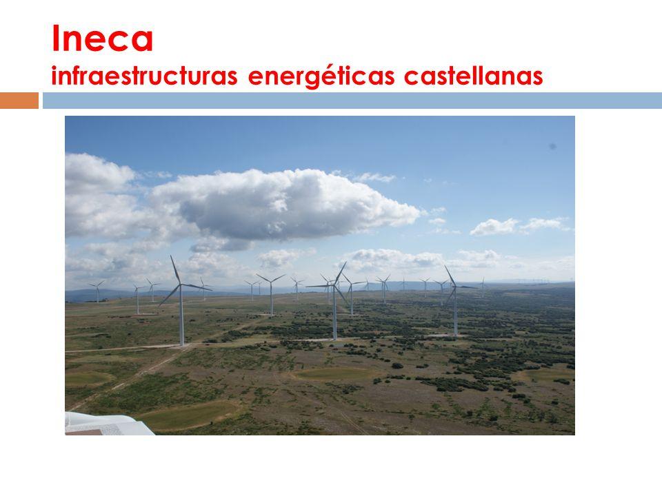 Ineca infraestructuras energéticas castellanas