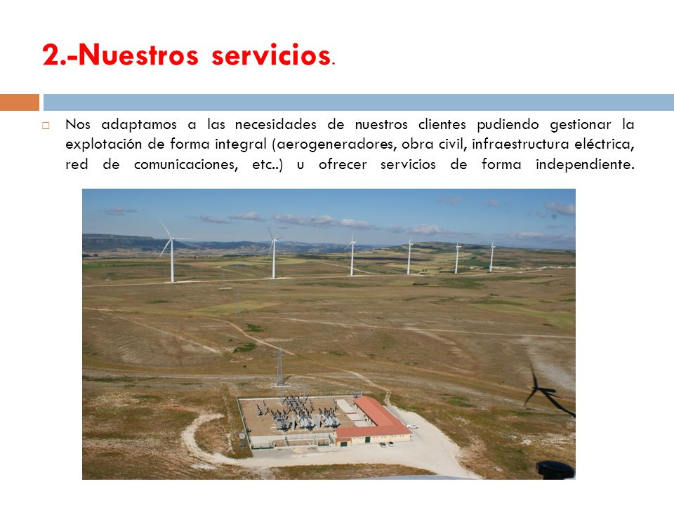 2.-Nuestros servicios.