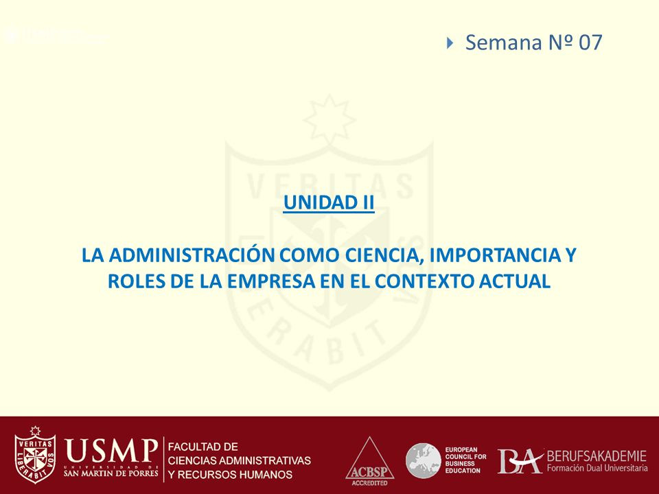 Semana Nº 07 UNIDAD II.
