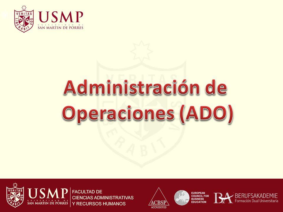 Administración de Operaciones (ADO)