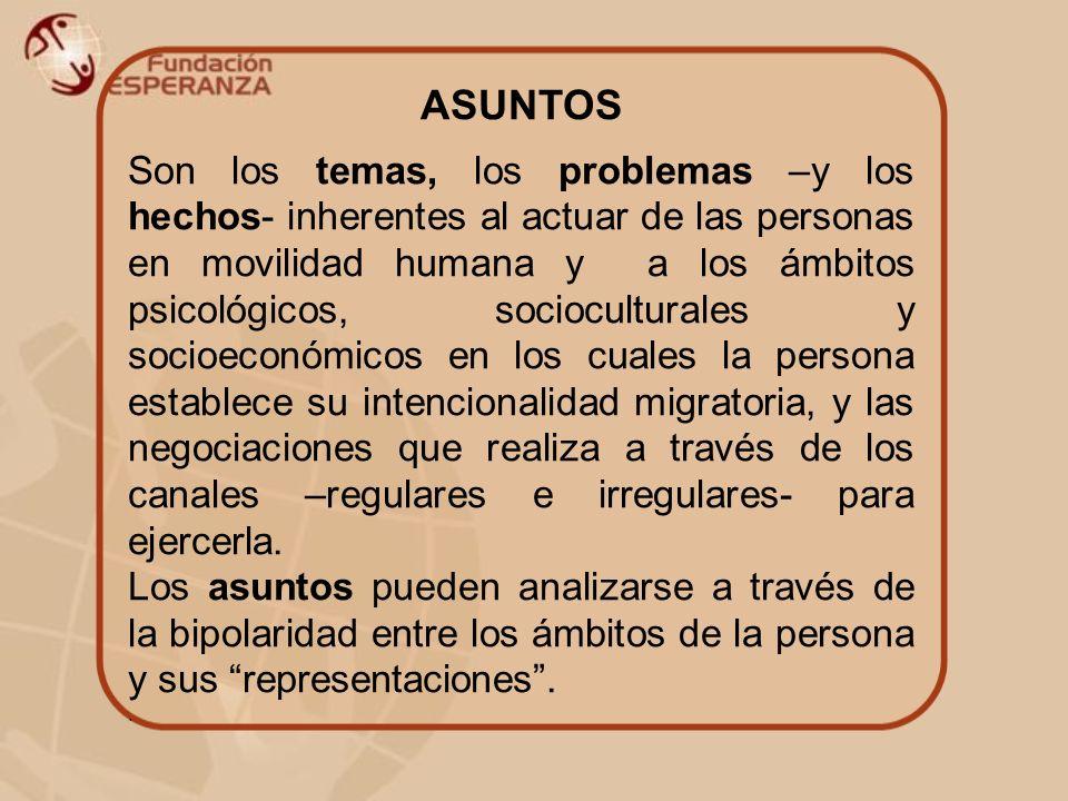 ASUNTOS