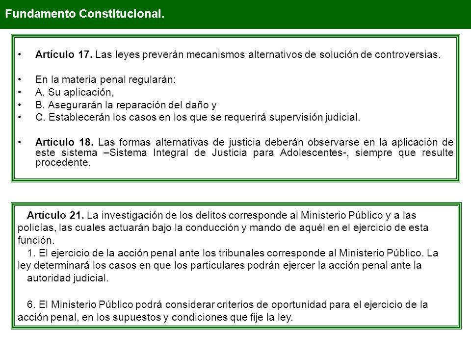 Fundamento Constitucional.