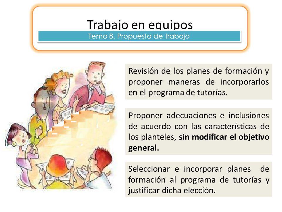 Tema 8. Propuesta de trabajo
