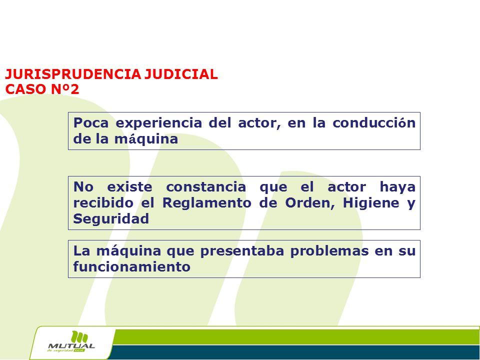 JURISPRUDENCIA JUDICIAL