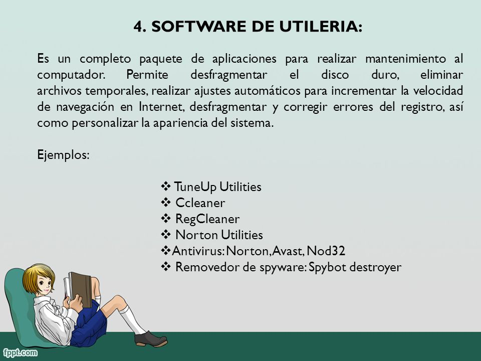 SOFTWARE DE UTILERIA: