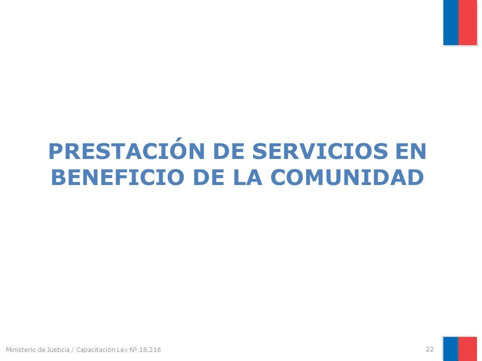 PRESTACIÓN DE SERVICIOS EN BENEFICIO DE LA COMUNIDAD