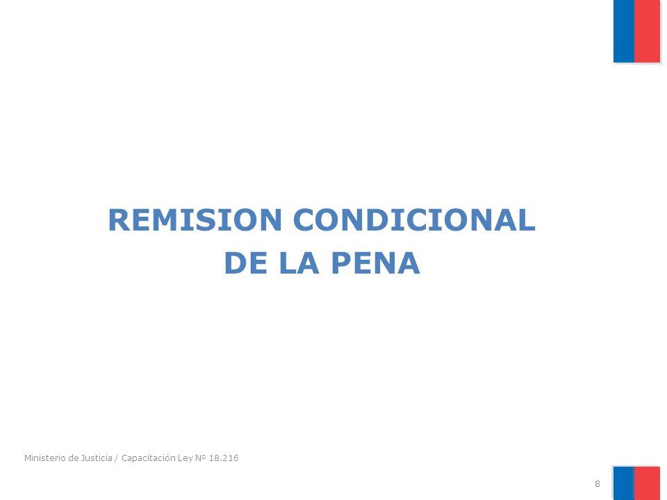 REMISION CONDICIONAL DE LA PENA