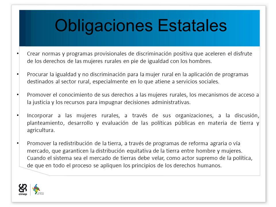 Obligaciones Estatales