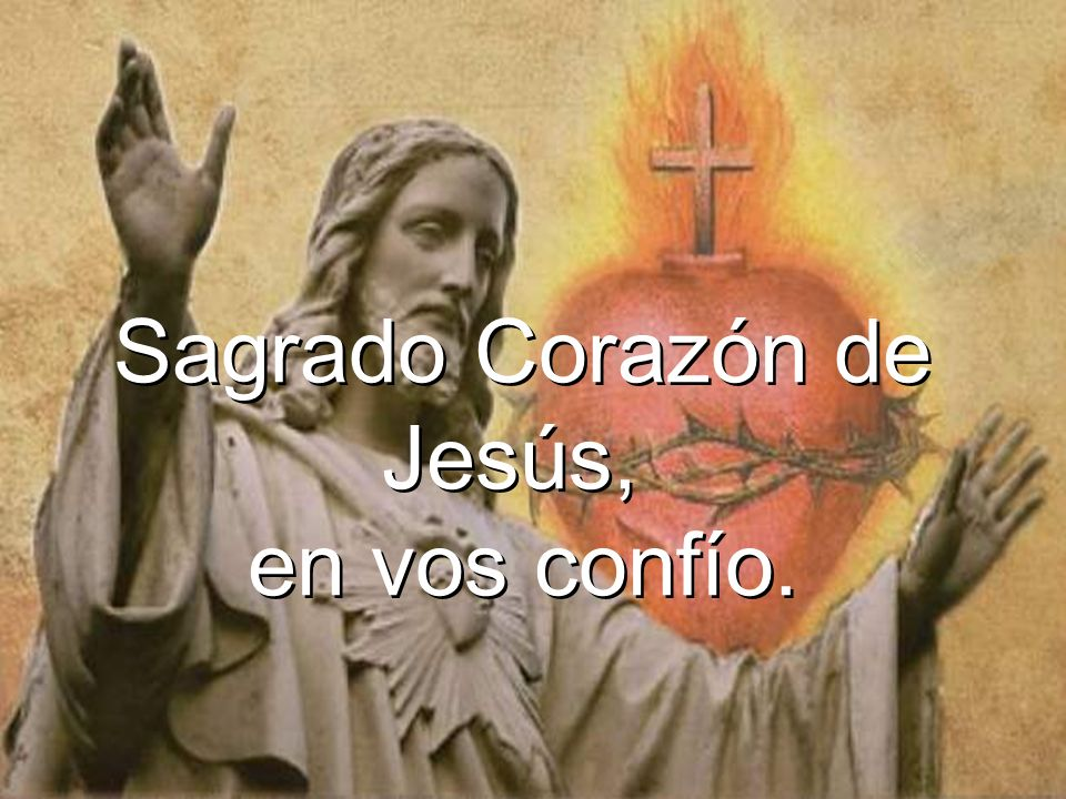 Sagrado Corazón de Jesús,