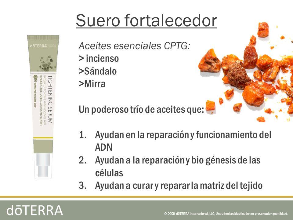 Suero fortalecedor Aceites esenciales CPTG: > incienso >Sándalo