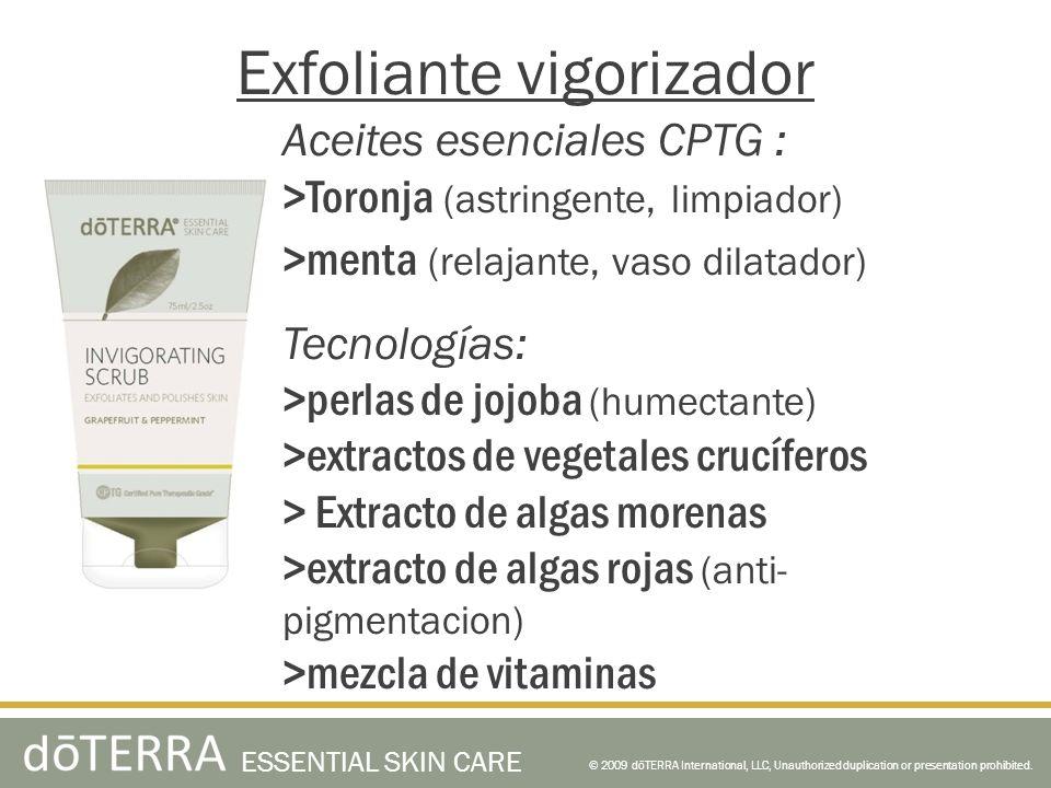 Exfoliante vigorizador