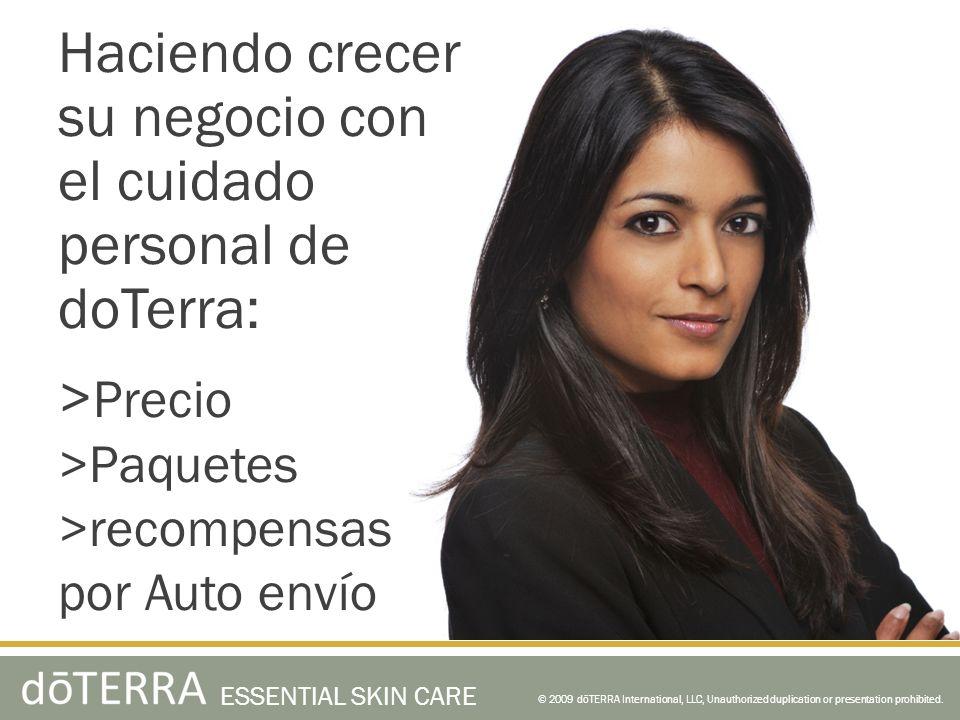 Haciendo crecer su negocio con el cuidado personal de doTerra: