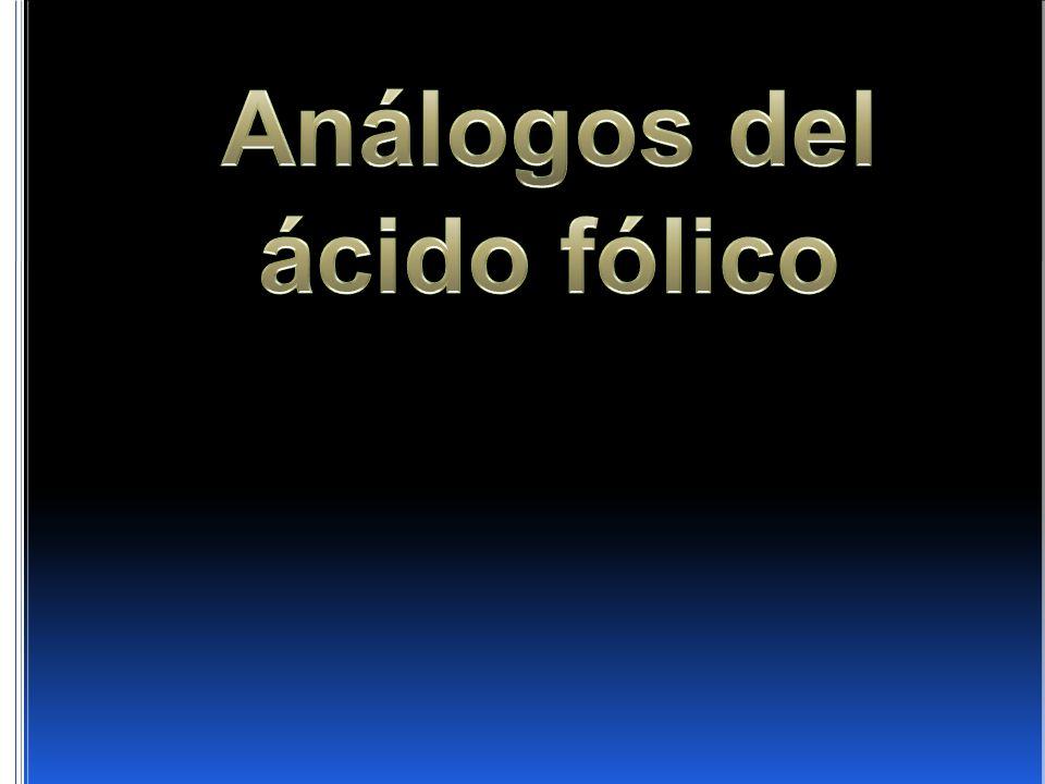 Análogos del ácido fólico