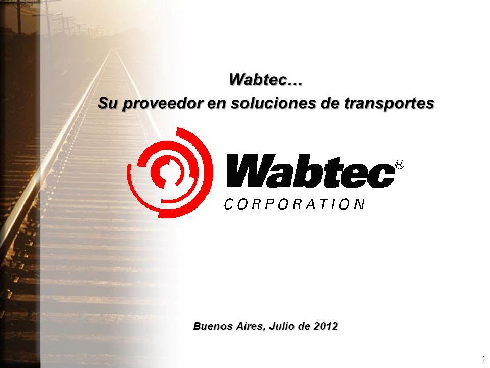Wabtec… Su proveedor en soluciones de transportes