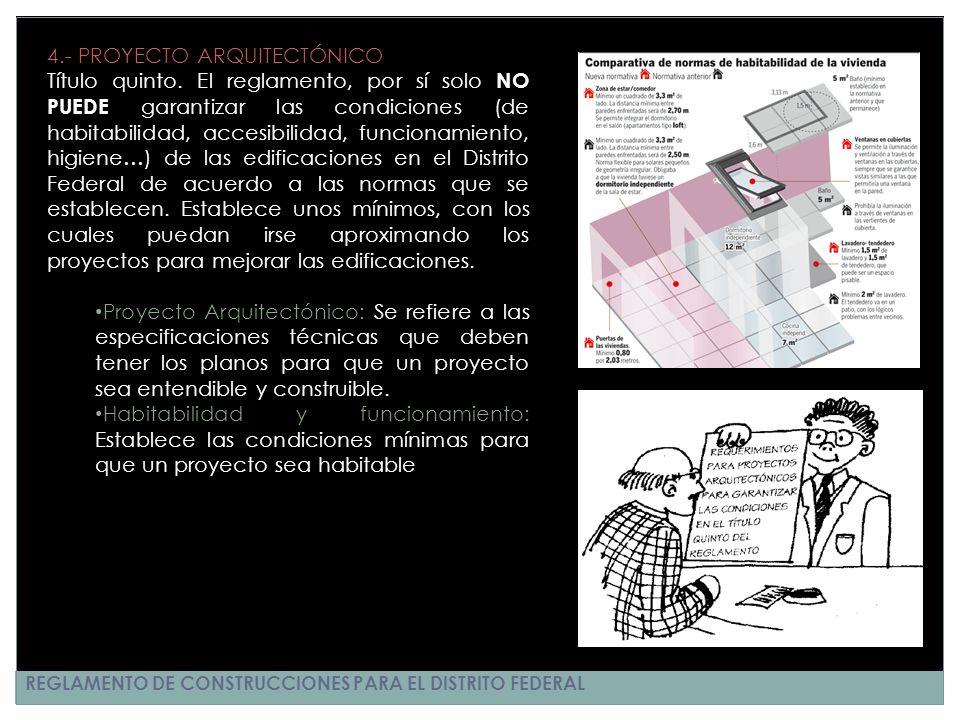 4.- PROYECTO ARQUITECTÓNICO