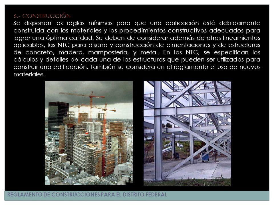 6.- CONSTRUCCIÓN