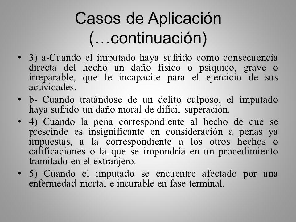 Casos de Aplicación (…continuación)
