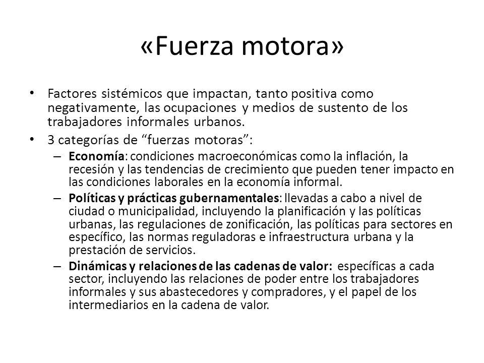 «Fuerza motora»