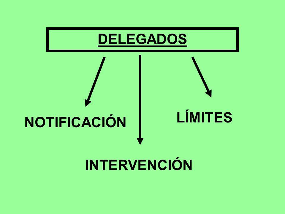 DELEGADOS LÍMITES NOTIFICACIÓN INTERVENCIÓN