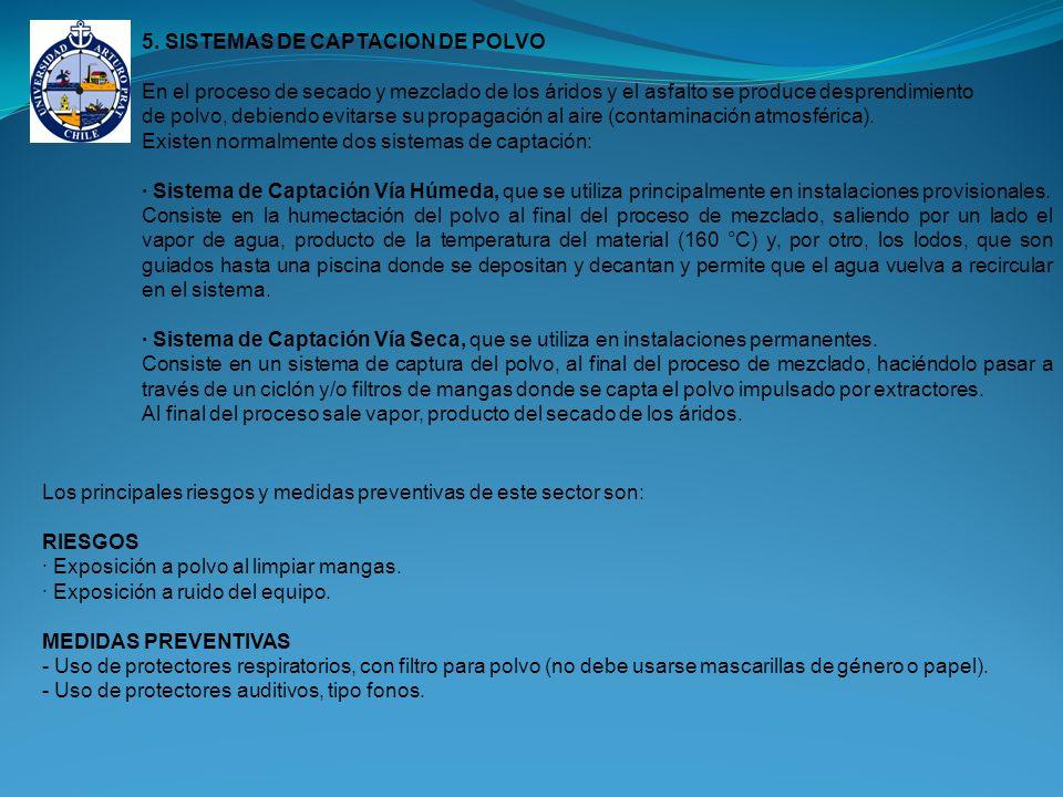 5. SISTEMAS DE CAPTACION DE POLVO