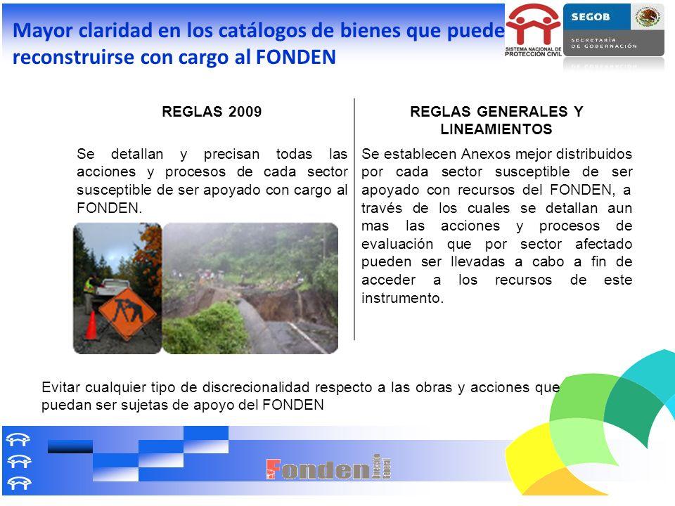 REGLAS GENERALES Y LINEAMIENTOS