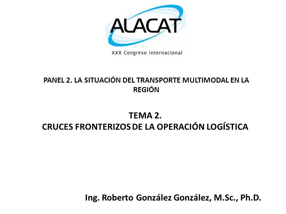 TEMA 2. CRUCES FRONTERIZOS DE LA OPERACIÓN LOGÍSTICA