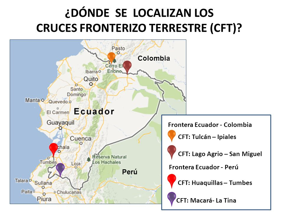 ¿DÓNDE SE LOCALIZAN LOS CRUCES FRONTERIZO TERRESTRE (CFT)