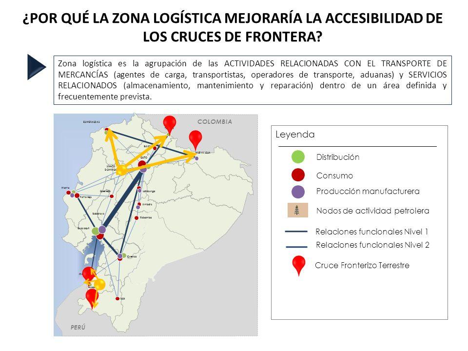 ¿POR QUÉ LA ZONA LOGÍSTICA MEJORARÍA LA ACCESIBILIDAD DE LOS CRUCES DE FRONTERA