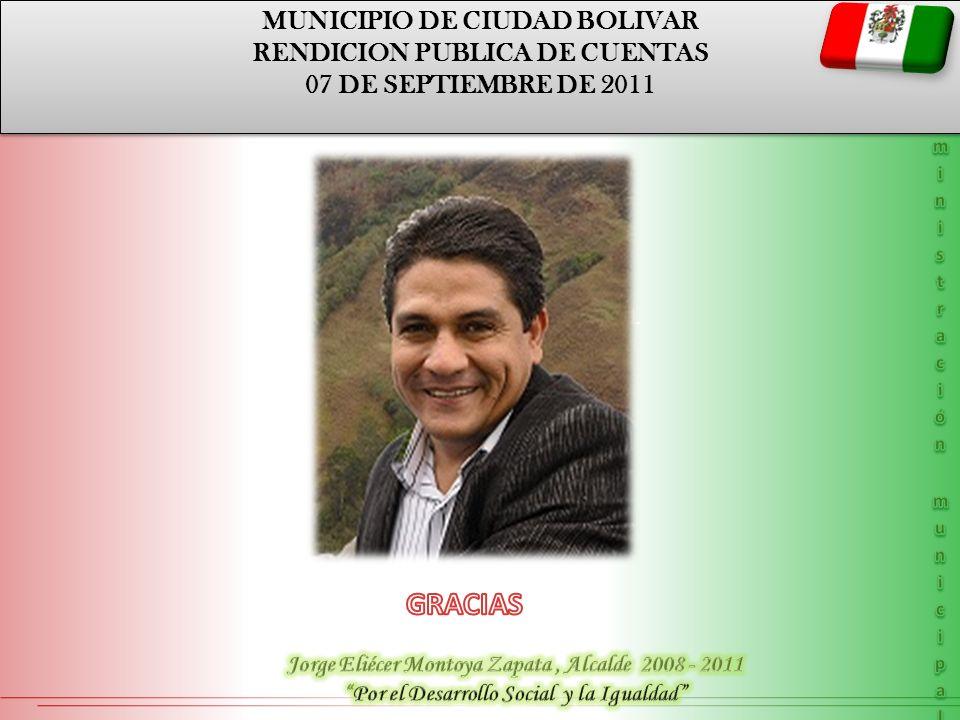 GRACIAS MUNICIPIO DE CIUDAD BOLIVAR RENDICION PUBLICA DE CUENTAS