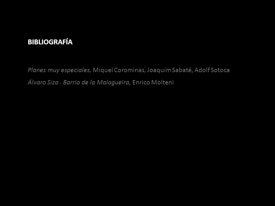 BIBLIOGRAFÍA Planes muy especiales, Miquel Corominas, Joaquim Sabaté, Adolf Sotoca.