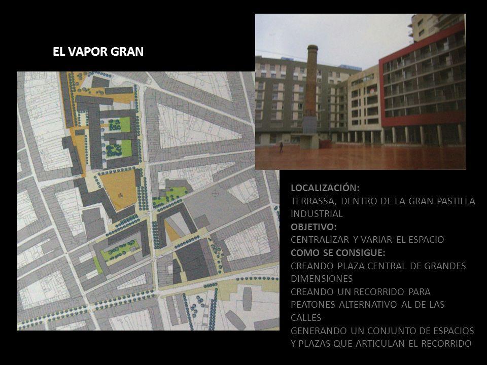 EL VAPOR GRAN LOCALIZACIÓN: