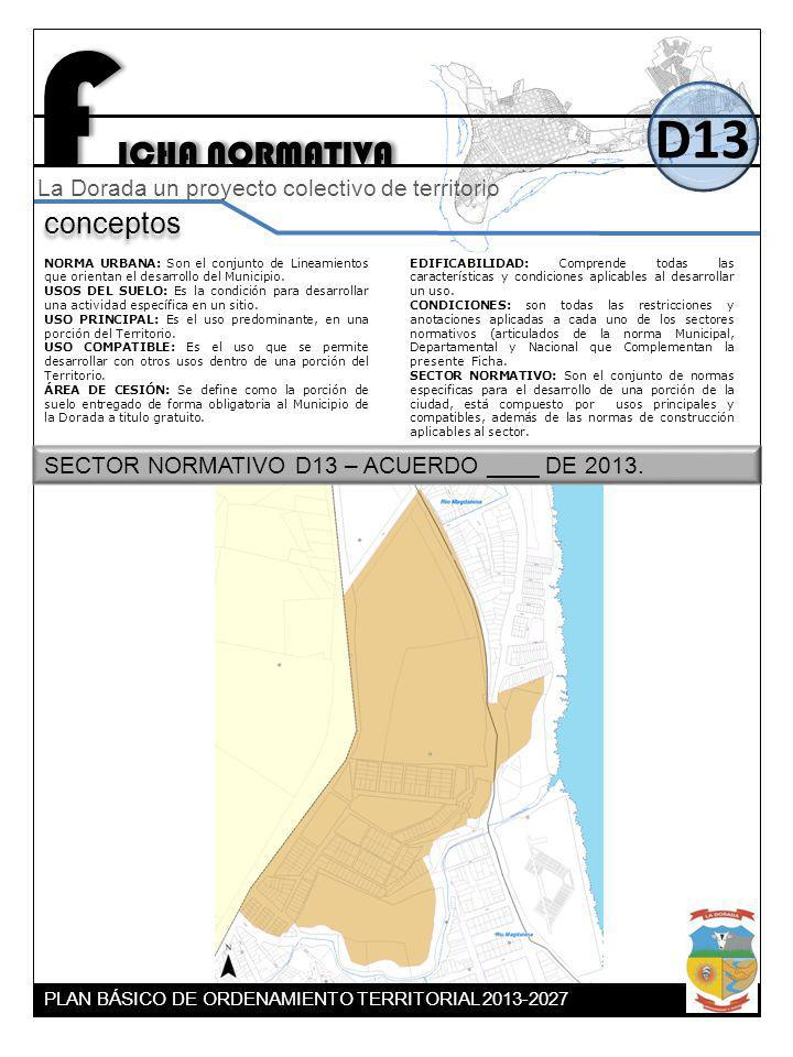 FICHA NORMATIVA D13 conceptos