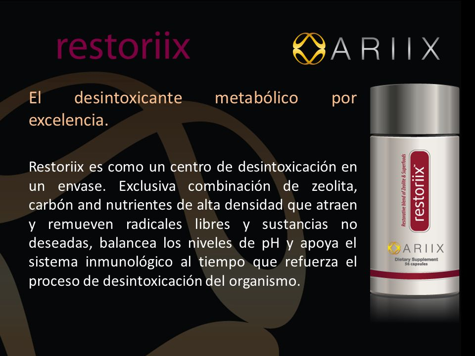 El desintoxicante metabólico por excelencia.