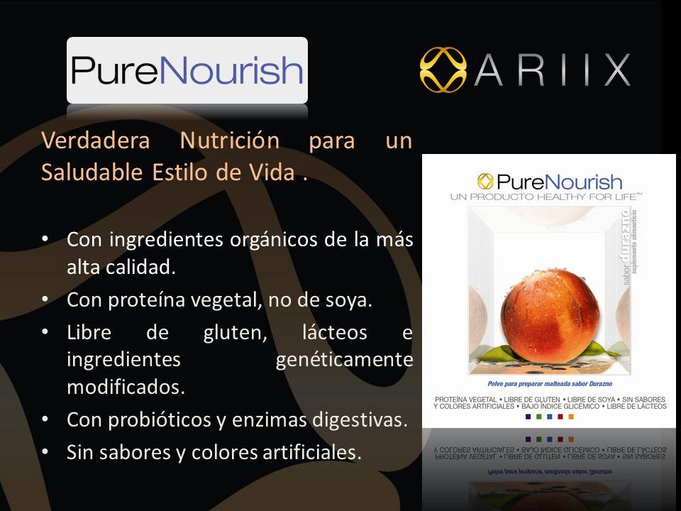 Verdadera Nutrición para un Saludable Estilo de Vida .