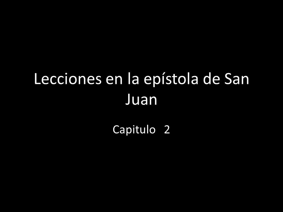 Lecciones en la epístola de San Juan