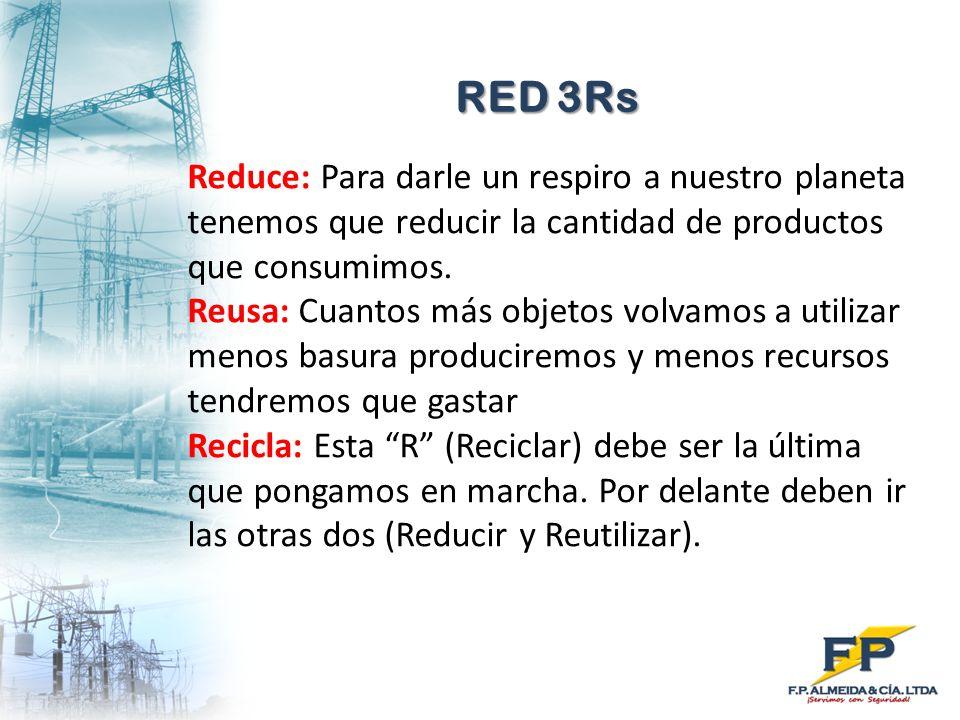 RED 3Rs Reduce: Para darle un respiro a nuestro planeta tenemos que reducir la cantidad de productos que consumimos.