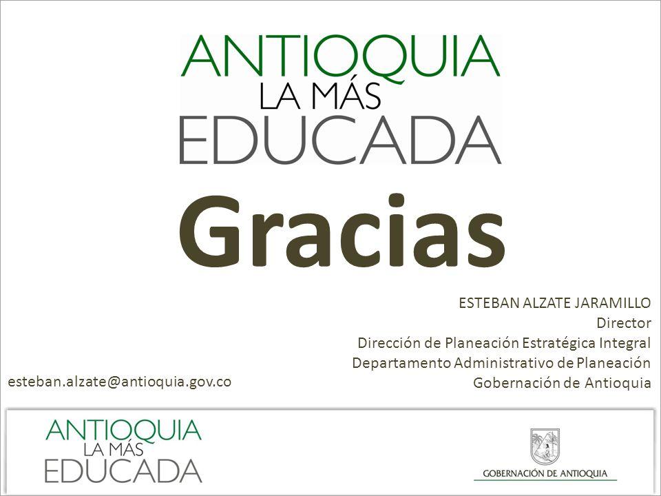 Gracias ESTEBAN ALZATE JARAMILLO Director