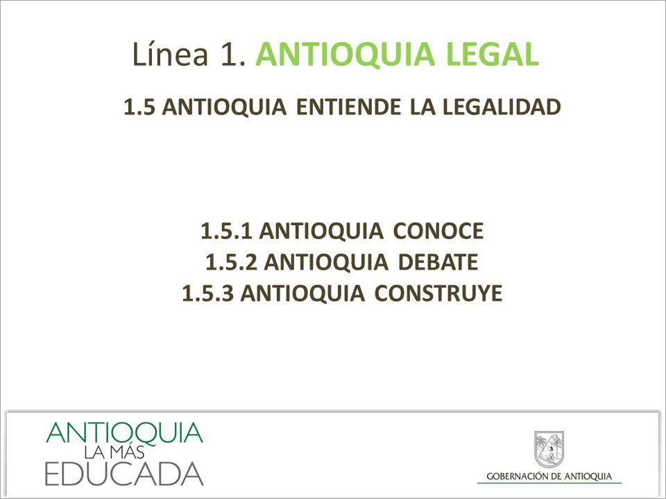 1.5 ANTIOQUIA ENTIENDE LA LEGALIDAD