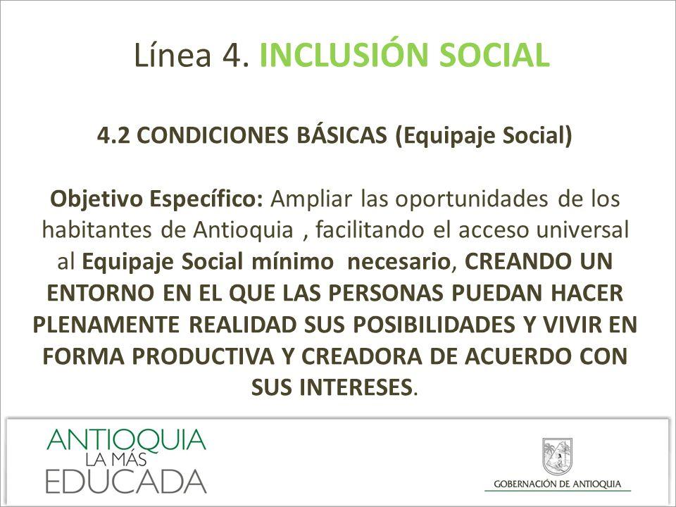 4.2 CONDICIONES BÁSICAS (Equipaje Social)
